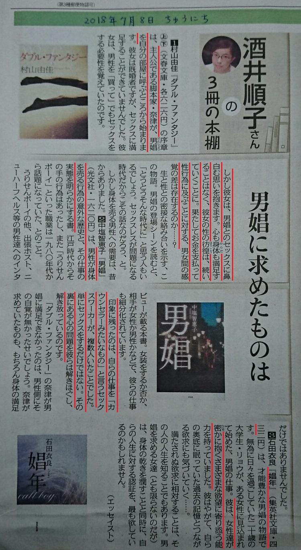 男娼にもとめたものは(ちゅうにち - 20118.7.8) 750-1370