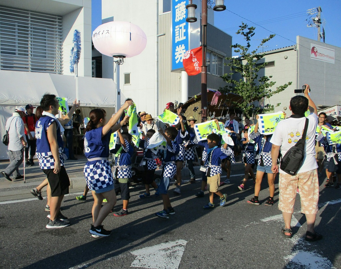 2018.7.15 (12) 西尾祇園祭 - 総おどり 1140-900
