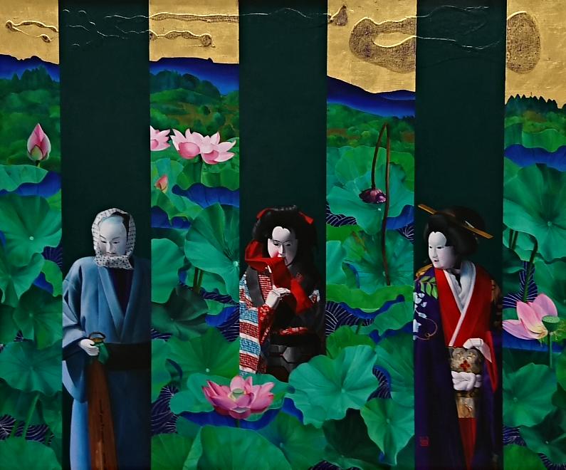 み)2019.2.8 日展 (11) 逍遥・こいぶみ 795-660