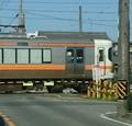 2019.8.22 新田ふみきり - 豊橋いき新快速 1040-1000