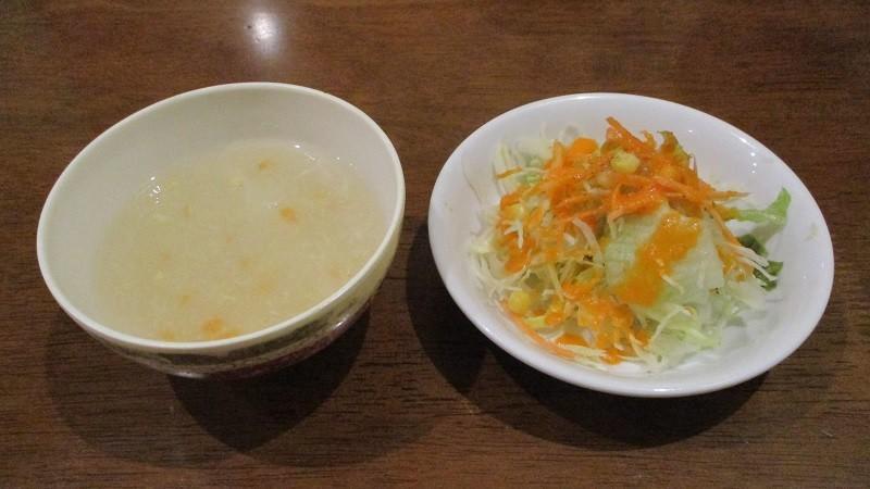2019.4.23 (10) ビシュヌ - スープとサラダ 800-450