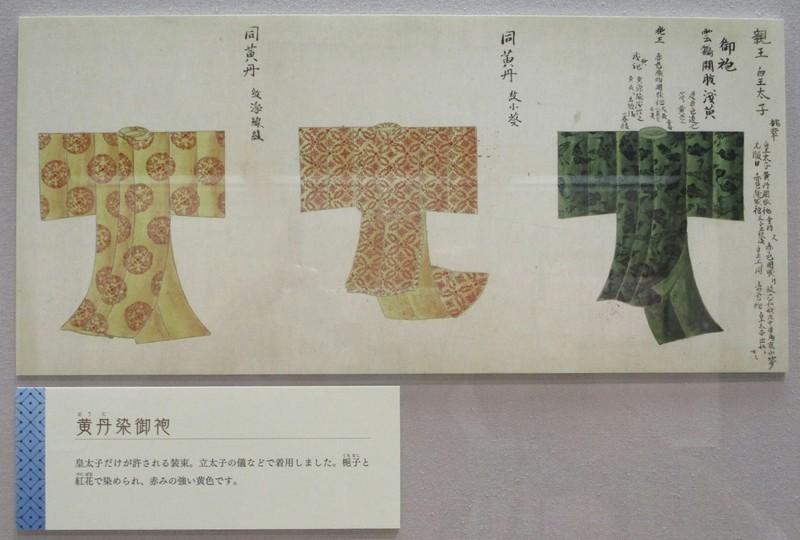 2019.4.29 (28) 岩瀬文庫 - 黄丹染御袍 1880-1270