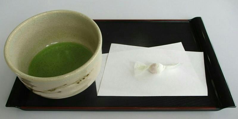 2019.4.29 (32) 岩瀬文庫 - 抹茶とらくがん 800-400