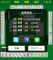 2019.5.6 1:52 麻雀ゲームで125,000点 1080-1220