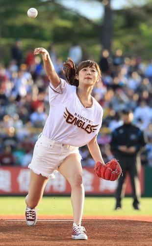 2019.5.29 弘前市運動公園野球場 - 奥山かずささん (2) 310-500