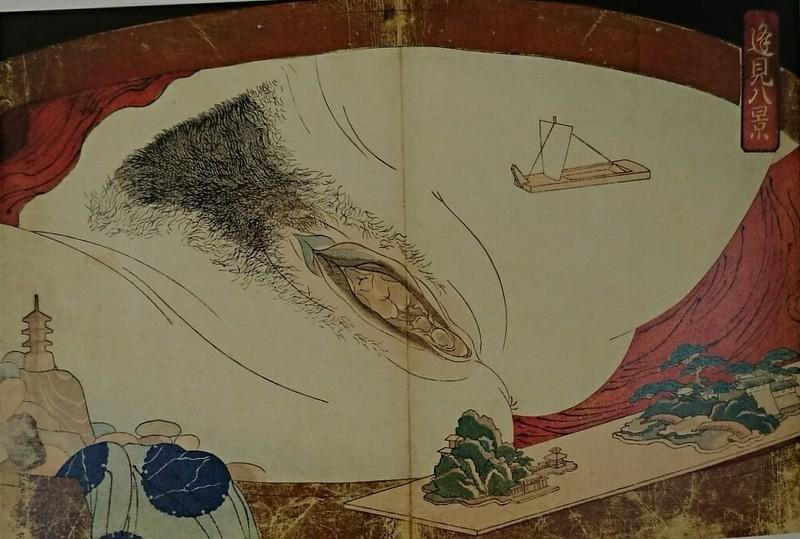 歌川国芳『逢見八契』 1010-680