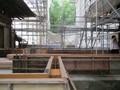 2019.7.20 (12) 古井神社 - わたり殿基礎(ひがしから) 2000-1500