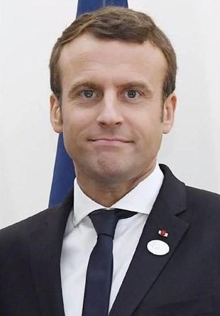 フランスのマクロン大統領(さんけい) 310-445