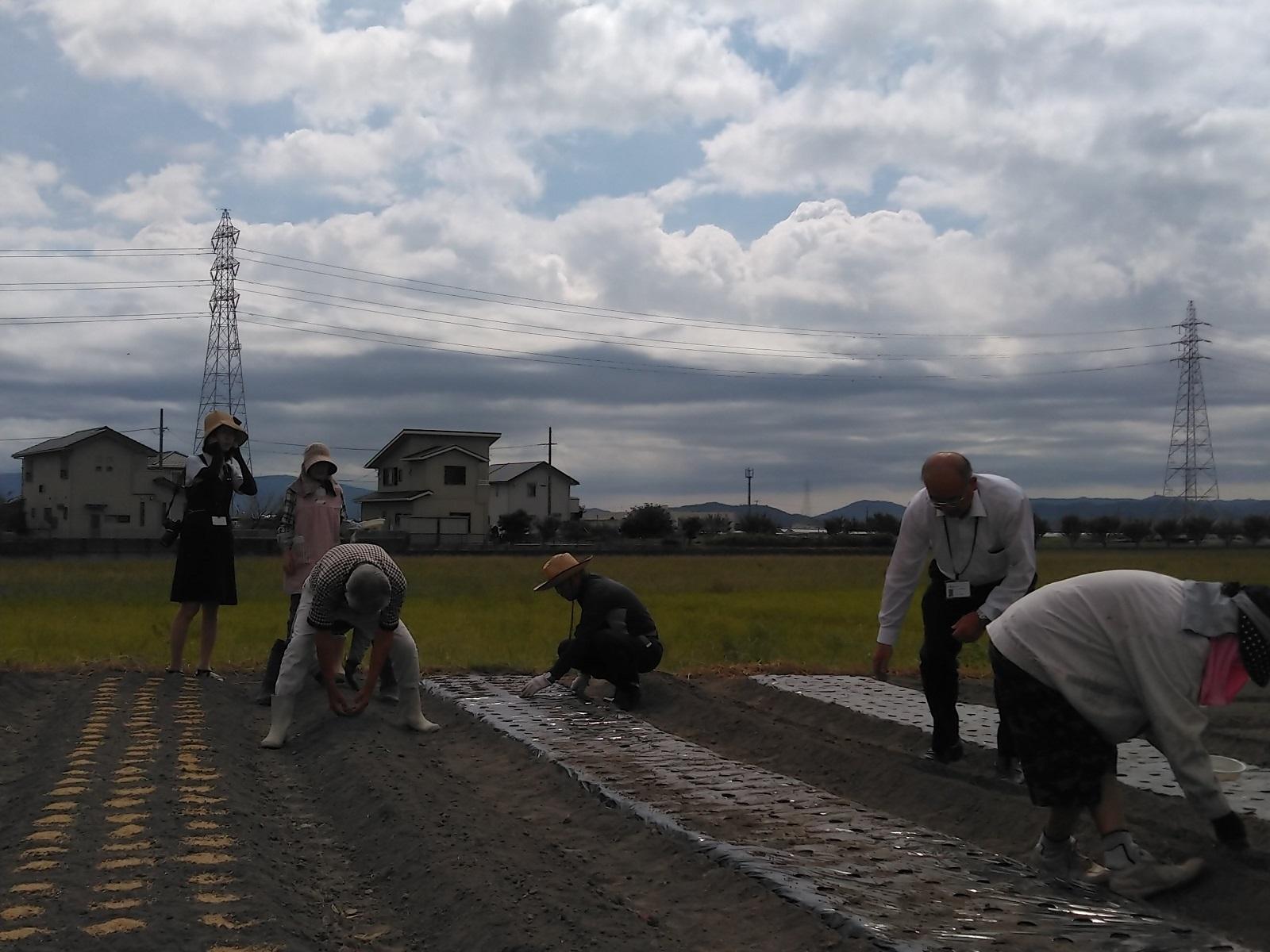 2019.9.19 (1) 農業実習 - 実習ふうけい 1600-1200