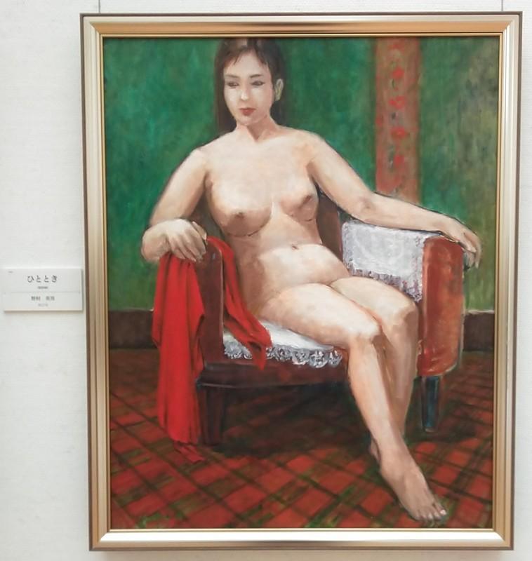 2019.11.8 安美展 (2) 野村英男さん - ひととき 1270-1340