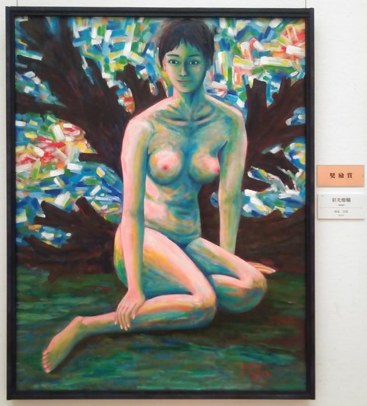 2019.11.8 安美展 (3) 高見昌良さん - 彩光燦爛 1330-1470