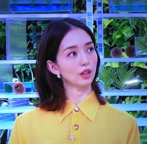 2019.11.14 あさイチ - 松島花さん 500-490