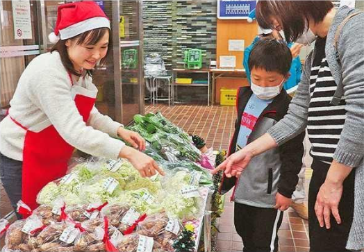 2019.12.25 ちゅうにち - あんじょうしやさいづくり支援センター(画像) 524-363