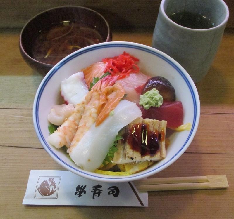 2020.3.2 栄寿司 - ちらしずし 960-900