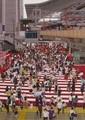 日展 (4) 野原都久馬さん『群像』 1300-1830