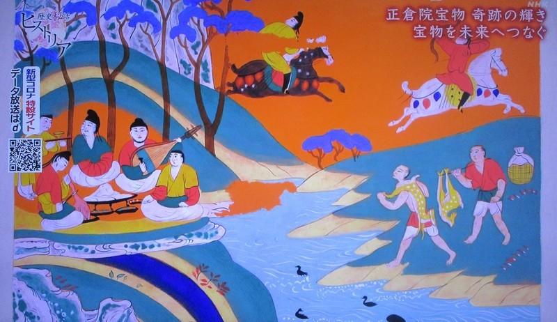 2020.5.19 歴史秘話 (36) 正倉院宝物 1090-630