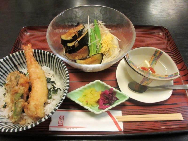 2020.8.30 (6) 歌行灯 - 肉みそなす冷麺膳 1600-1200