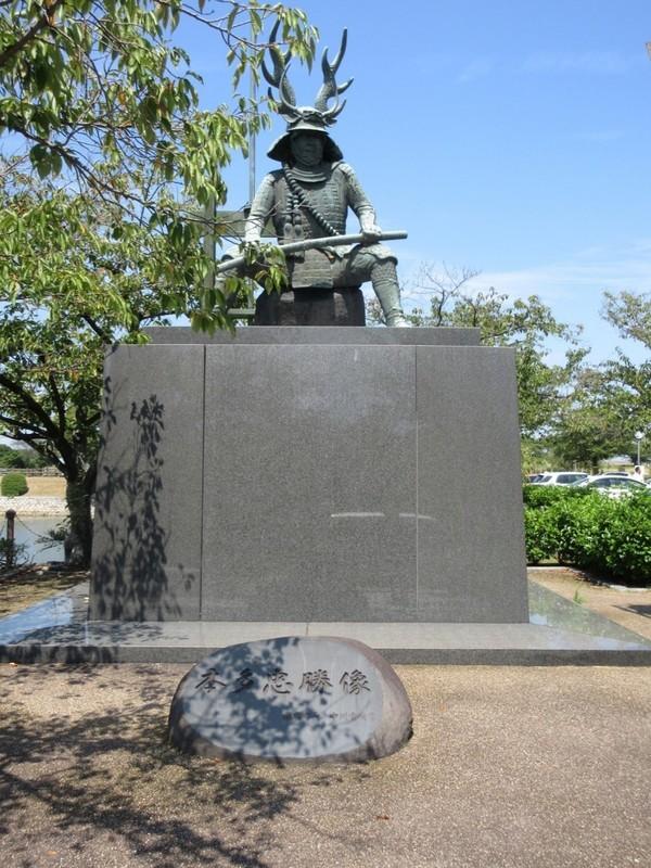 2020.8.30 (7) 桑名 - 本多忠勝像 1350-1800