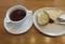 2020.9.30 ピッツェリアブル (1) アールグレイ紅茶とパン 1200-810