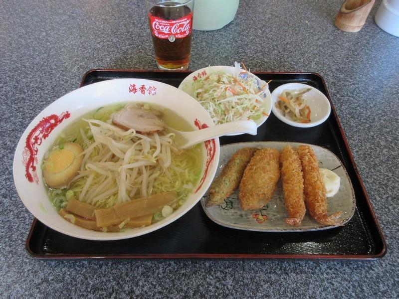 2020.12.7 (4) 海香館 - しおラーメン 1200-900