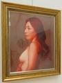 2021.3.3 画家のまなざし展 (7) 松沢翔さん『Mの肖像』 1430-1900