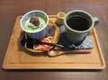2021.5.20 (12) さくら日和 - 抹茶ババロアとコーヒー 1560-1160