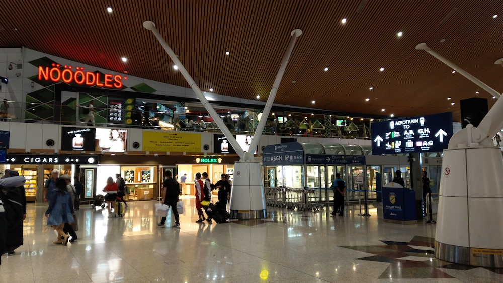 クアラルンプール国際空港の様子