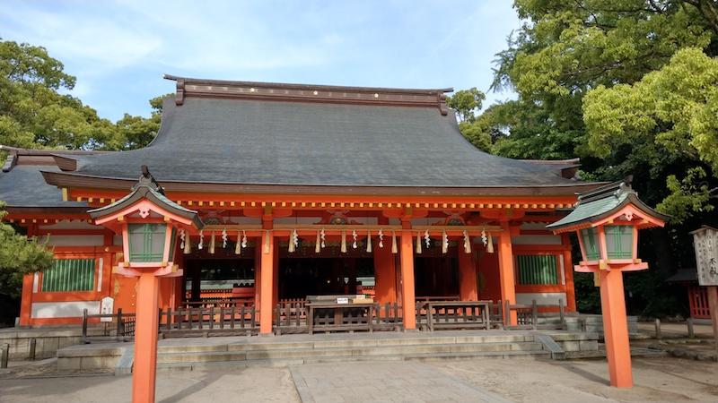 ANAマイル交換のついでに住吉神社で博多観光