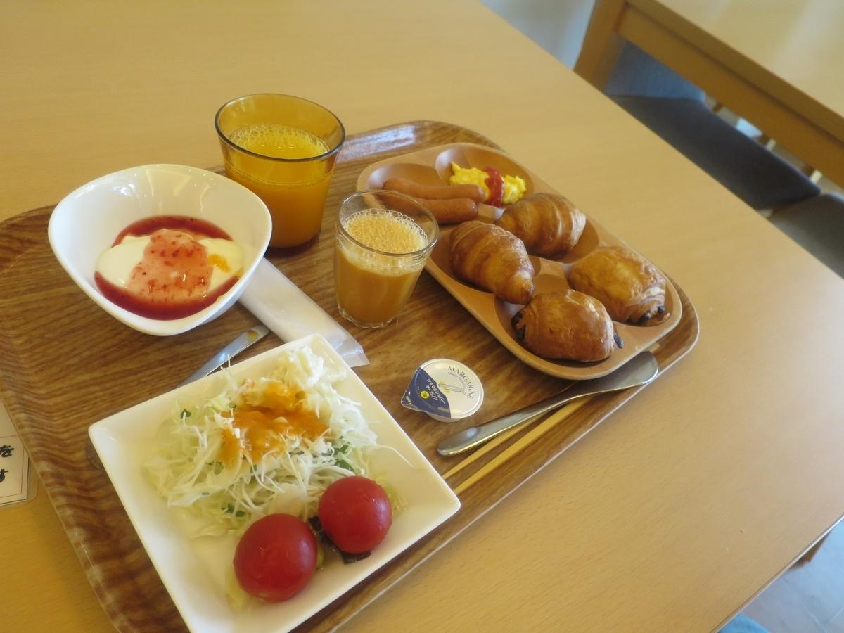 最終日のバイキング朝食