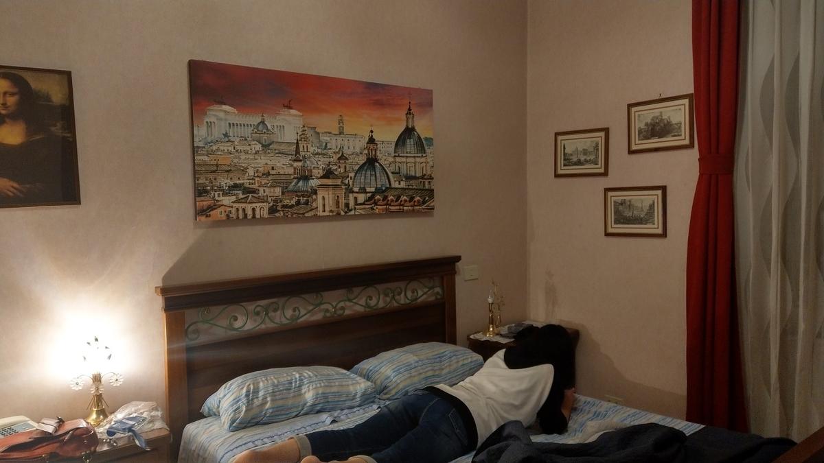 Airbnbで手配したローマの宿