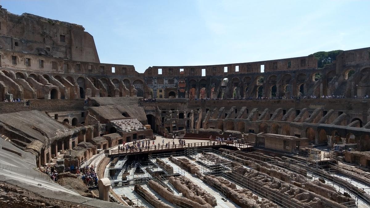 ローマ観光2日目 コロッセオ