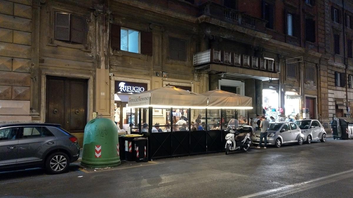 ローマ観光2日目 Rifugio