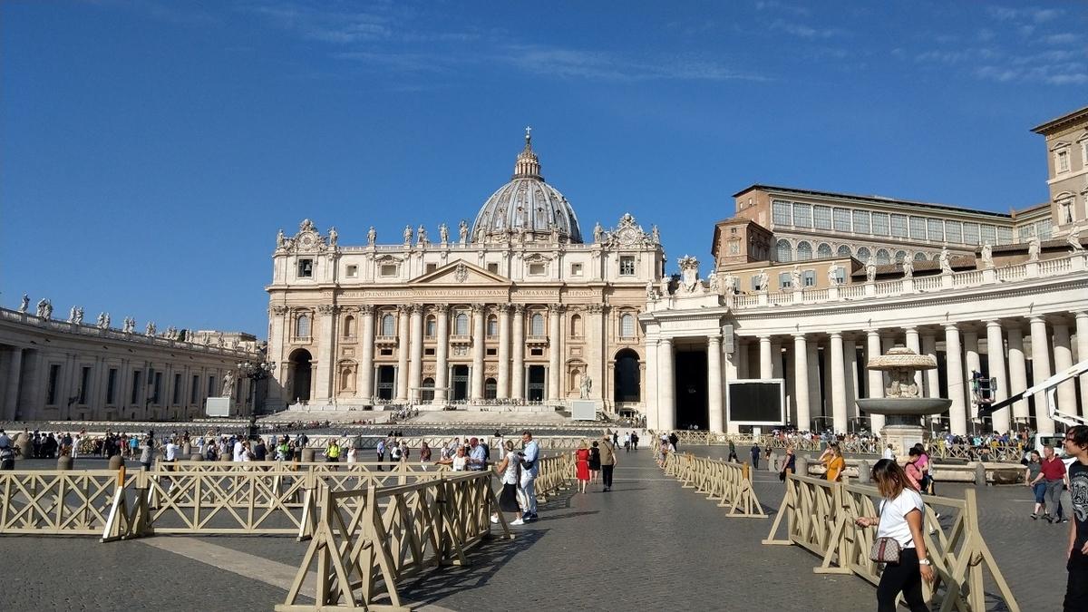 バチカン市国 サン・ピエトロ大聖堂