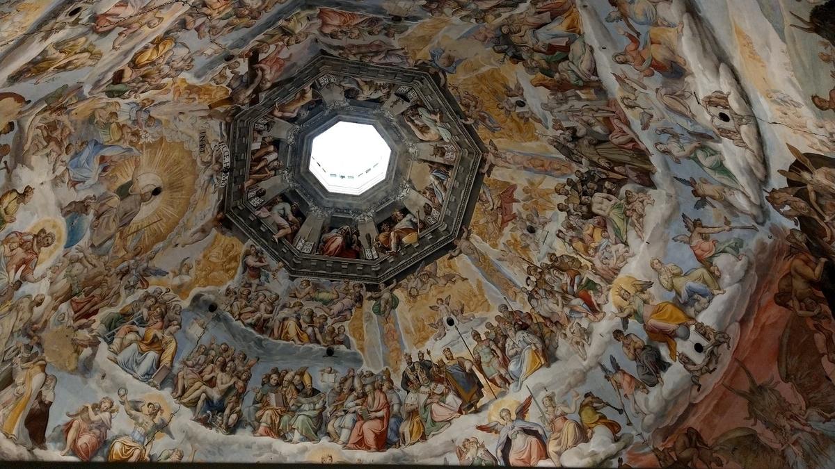 フィレンツェ観光 クーポラ