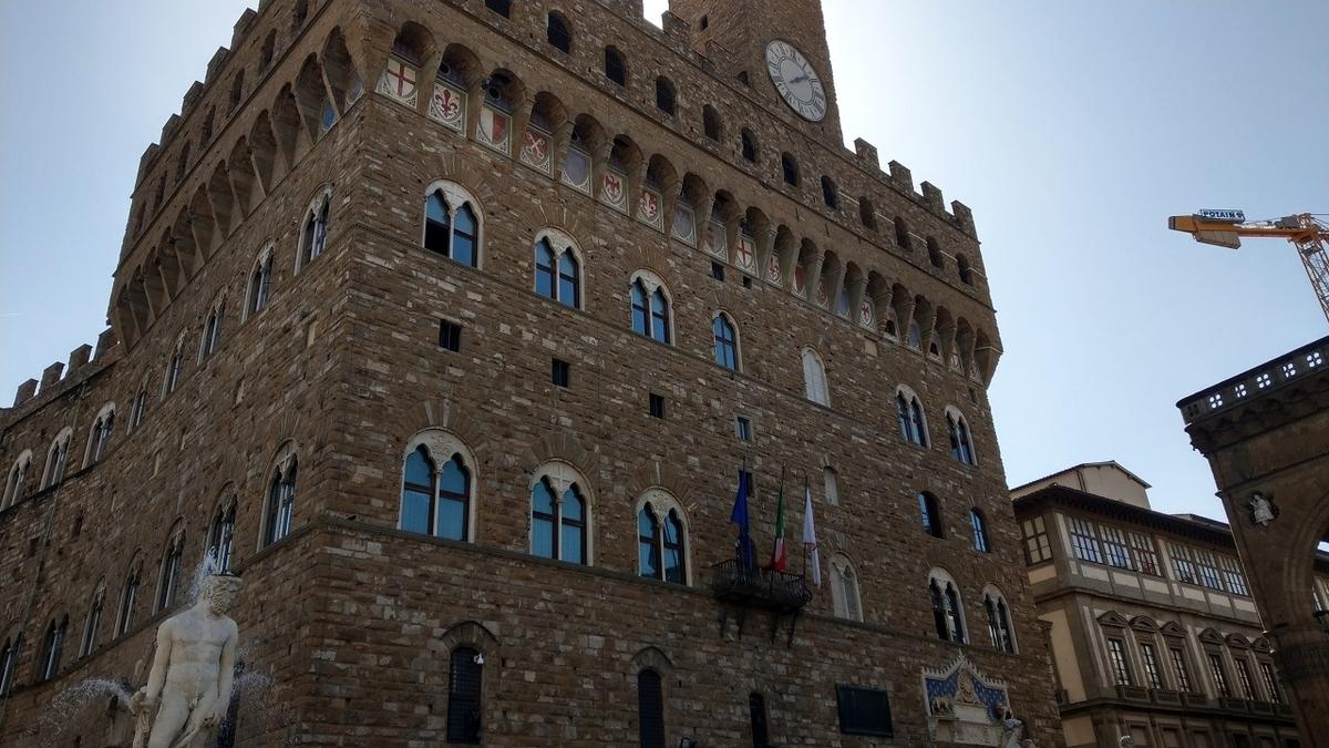 フィレンツェ観光 ヴェッキオ宮殿