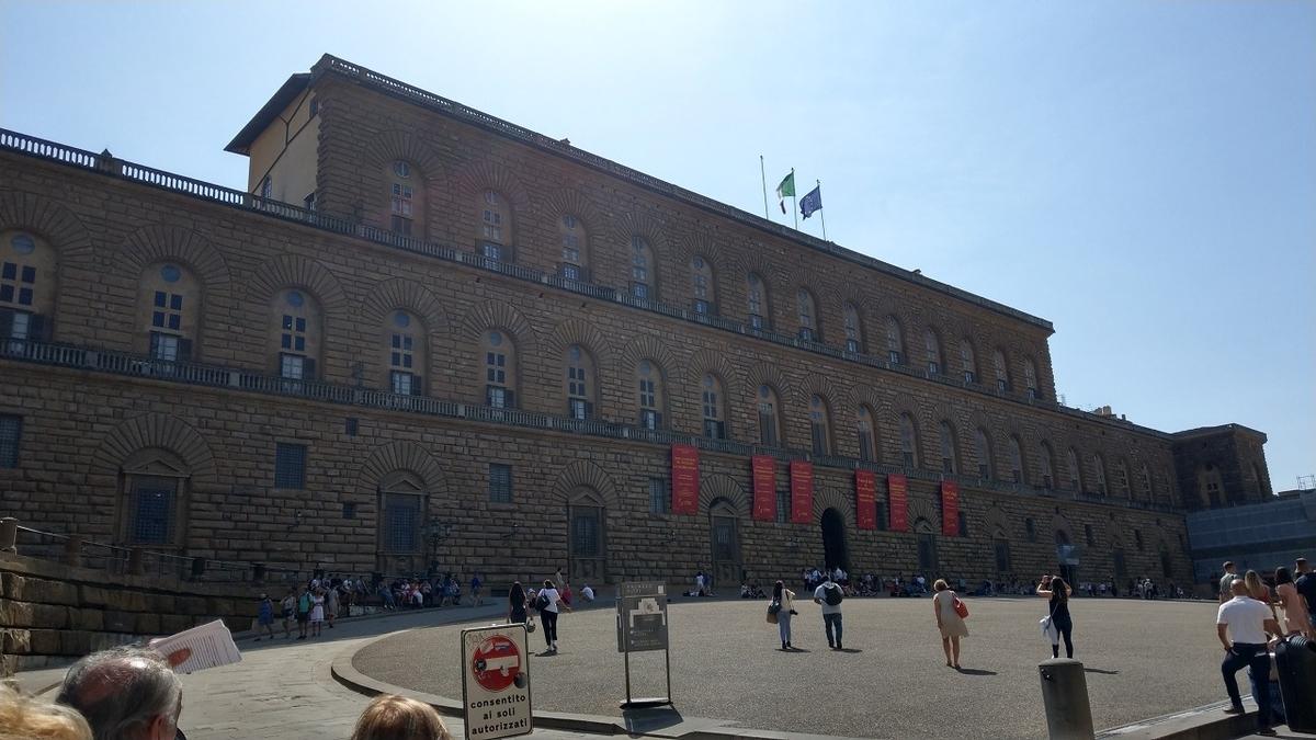 フィレンツェ観光 ビッティ宮殿
