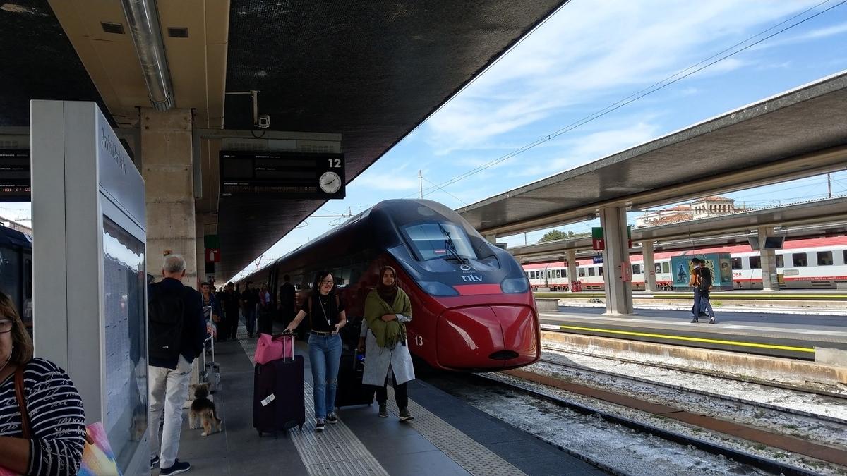ヴェネツィア・サンタ・ルチーア駅に到着