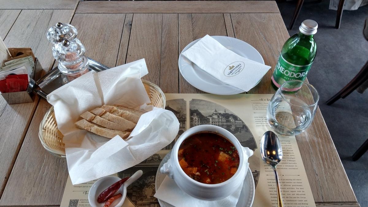 マイルを貯めて一人旅|ハンガリー料理 グヤーシュ