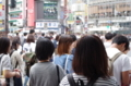 [2017年10月01日][渋谷][スクランブル交差点]