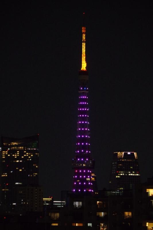 [2018年03月17日][東京タワー][ダイヤモンドヴェール]