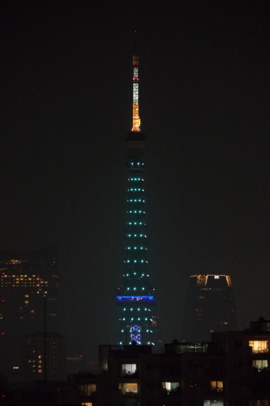 [2018年08月11日][東京タワー][ダイヤモンドヴェール]
