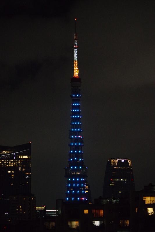 [2018年09月08日][東京タワー][ダイヤモンドヴェール]