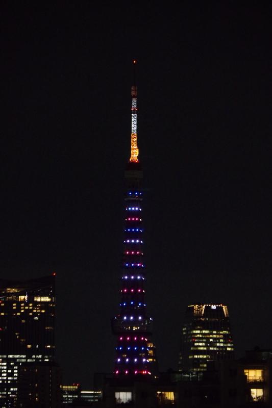 [2018年09月14日][東京タワー][ダイヤモンドヴェール]