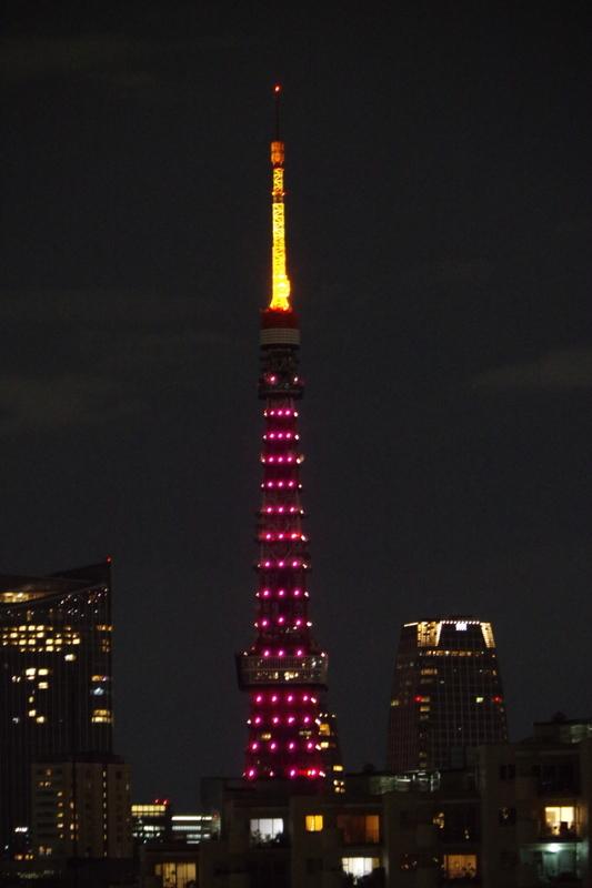 [2018年10月20日][東京タワー][ダイヤモンドヴェール]