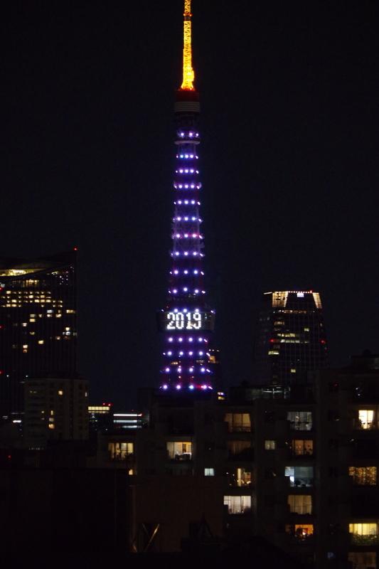 [2018年01月05日][東京タワー][ダイヤモンドヴェール]
