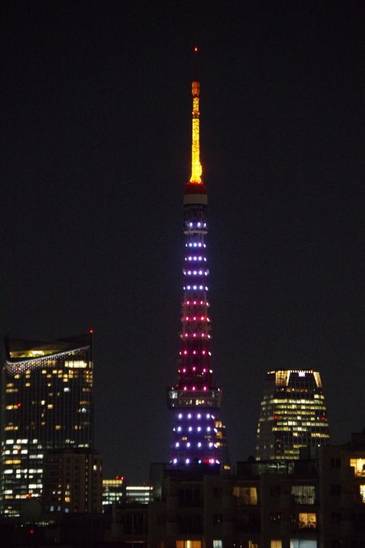 [2019年01月28日][東京タワー][ダイヤモンドヴェール]