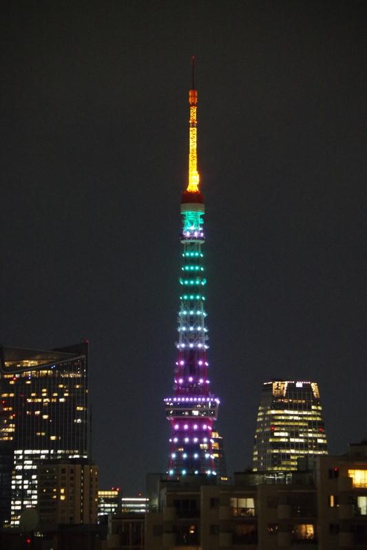 [2019年11月07日][東京タワー][ダイヤモンドヴェール]