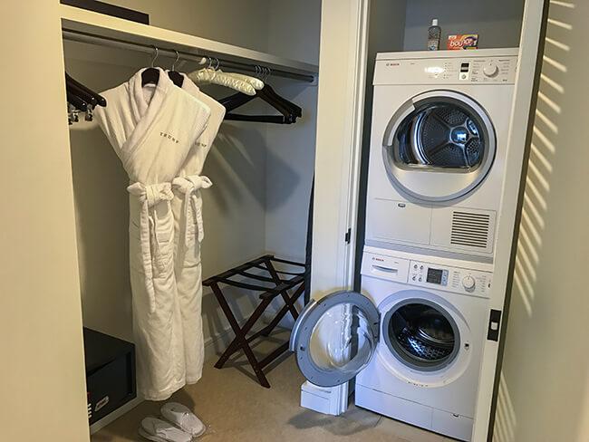 クローゼットと洗濯機・乾燥機