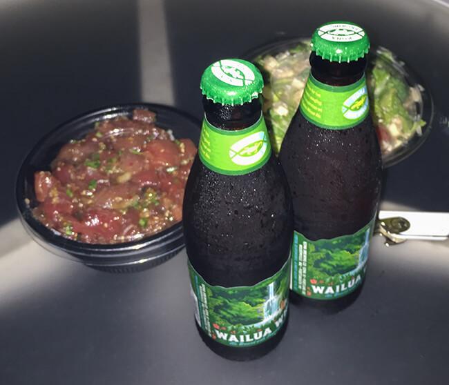 コココーヴのサラダとポケとワイルアウィート