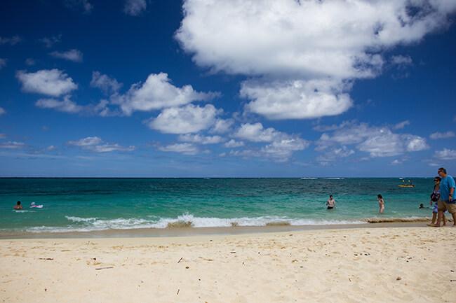 ラニカイビーチ・青い海と白い砂